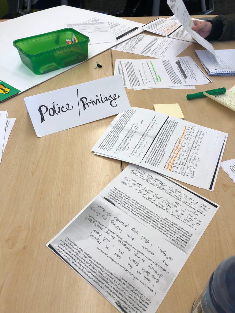 Police/Privilege station